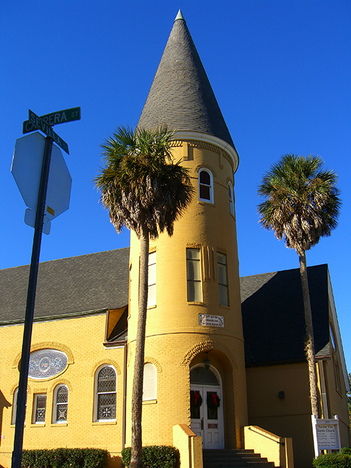 Picture of Ancient City Baptist Church in Saint Augustine.