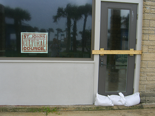 Hurricane Fay preperation in Saint Augustine