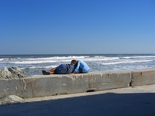 St. Augustine beach pier picture