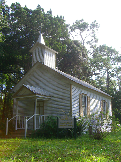 Moultrie Church Picture , St Augustine