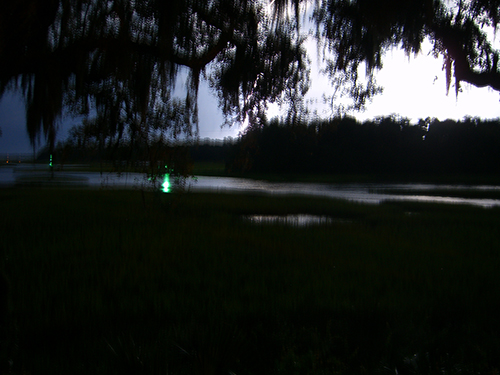 lightning strike at night picture