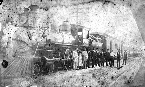St. Augustine Railway Engine Number 3 photograph