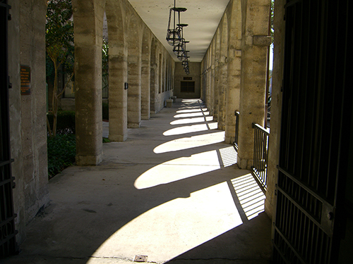 Walkway at Lightner Museum picture