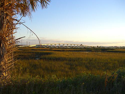 Picture of Vilano Bridge in the Morning