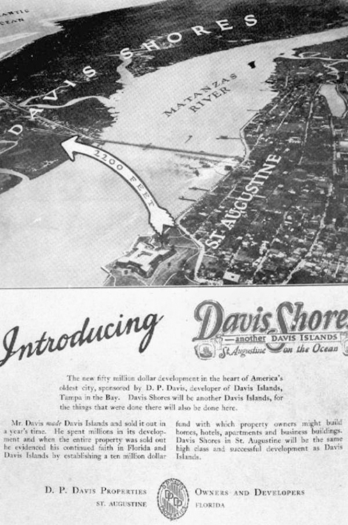 Picture of Historic Davis Shores Ad