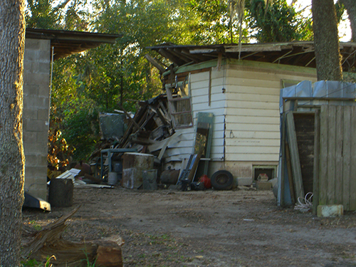 Collapsing Home Photo