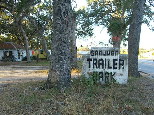 San Juan Trailer Park Picture