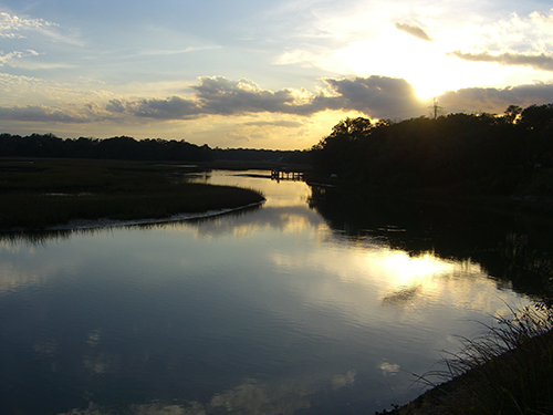 Moultrie Creek Sunset Picture