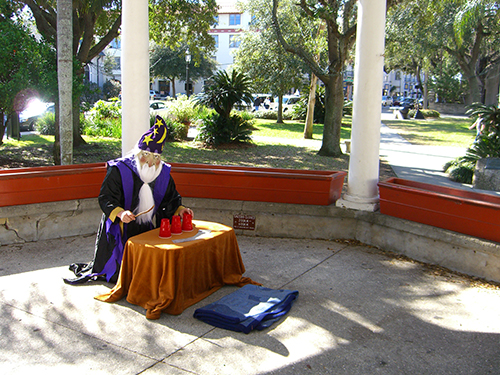 Photo of Magician at the Gazebo Downtown