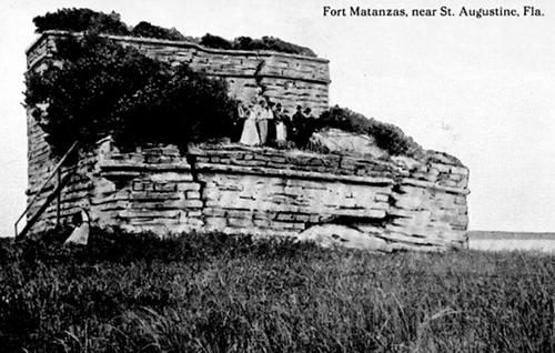 Fort Matanzas Ruins