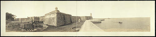 1910 Photo of Fort Marion