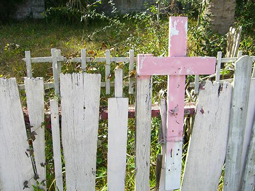 Lakeside Memorial Chapel Cross Photo