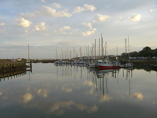 San Sebastian River Reflection Photo