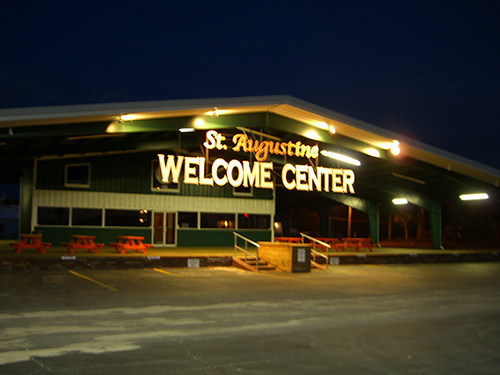 St. Augustine Welcome Center Photo