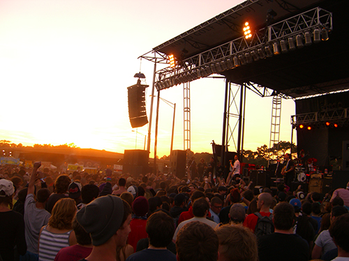 Picture of Bouncing Souls at Harvest of Hope Festival