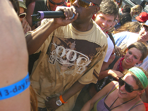 Picture of Inspectah Deck at Harvest of Hope Fest