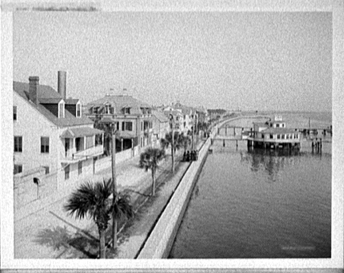 Sea Wall Around 1915 Photo