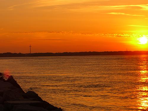Great Cross Intracoastal Sunset Photo