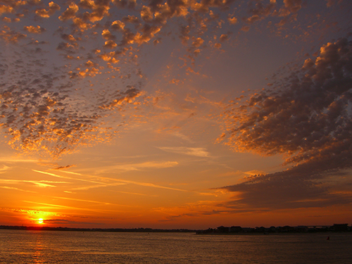 Florida Sunset Intracoastal Sky Photo