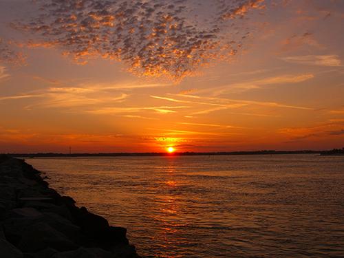 Beautiful Sunset on Anastasia Island Photo