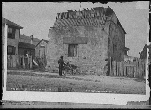 Oldest House in 1888 Photo
