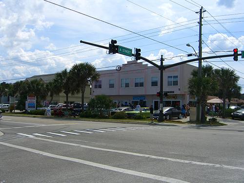 A-St Intersection Picture
