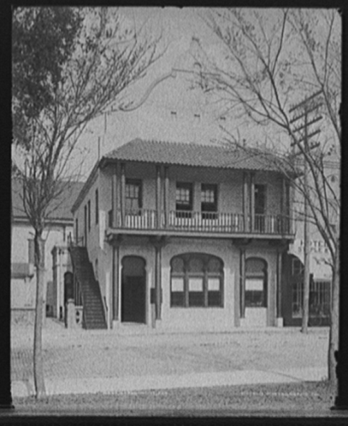First National Bank Historic Photo