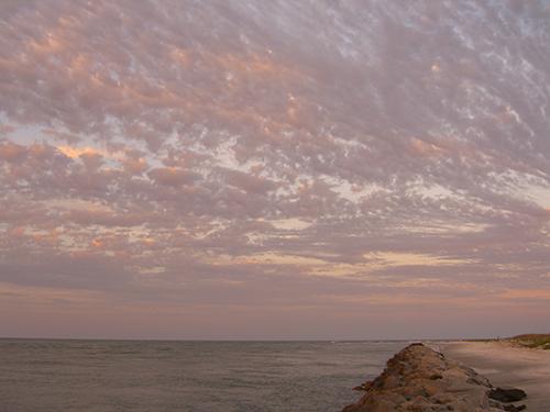 Beautiful Rocky Sunset Picture