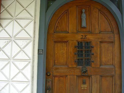 28 St. Francis St. Door Photo