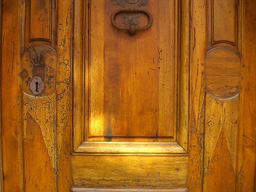 Marine St Door Woodwork Picture