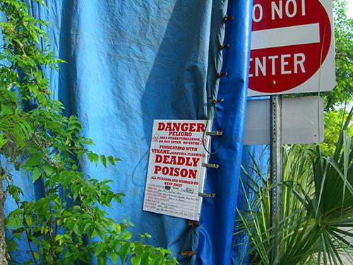 Do Not Enter the Circus Tent Photo