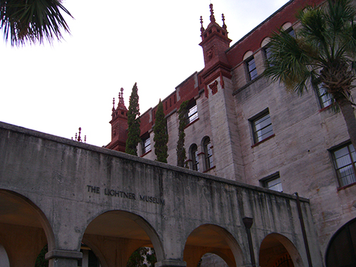 Side of Lightner Museum Photo