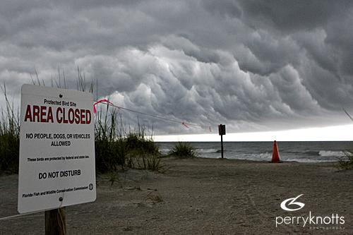 St. Augustine Beach Storm