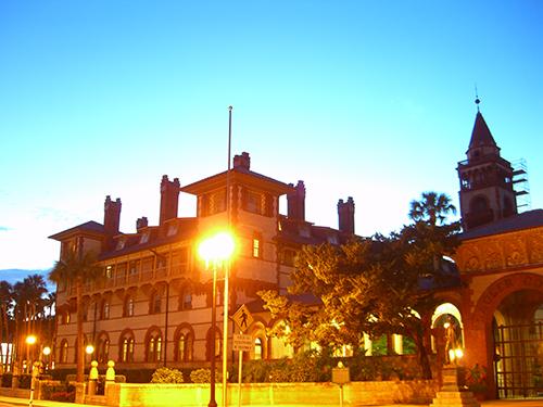 Flagler College Night Light Photo
