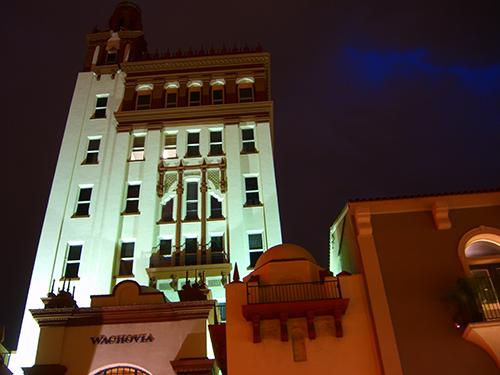 Wachovia at Night Picture