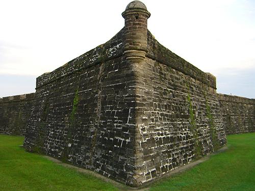 Castillo de San Marcos Angle