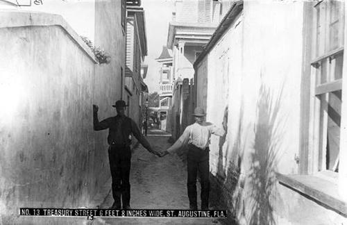 Treasury Street Historic Picture