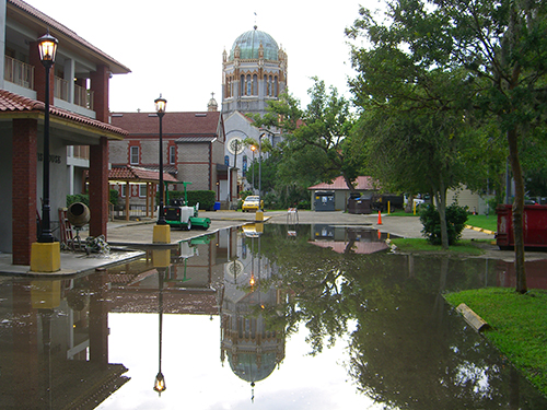 Flagler Memorial Presbytarian Reflection Photo