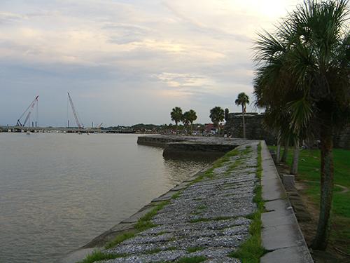 Waterfront at Castillo de San Marcos Pictures