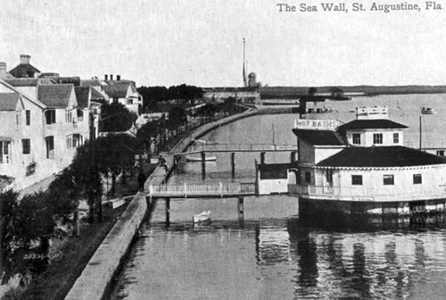 Hot Baths Sea Wall Picture