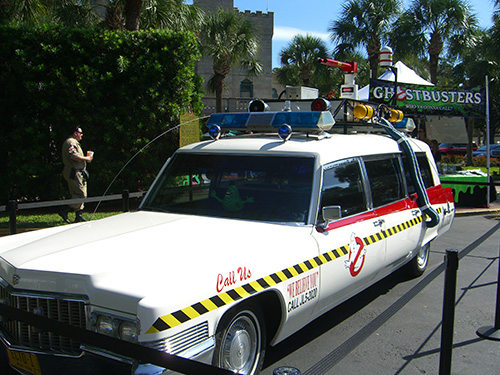 Ecto-1 Ghostbuster Car Picture