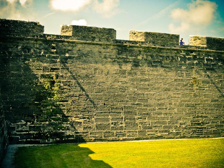 Castillo de San Marcos Fort Wall picture