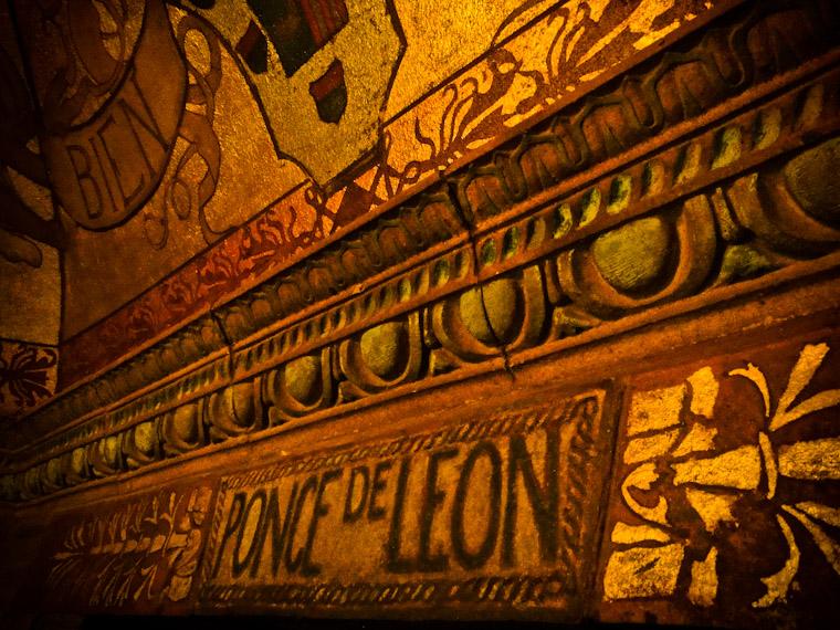 Picture of Ponce De Leon Breezeway Entry Detail