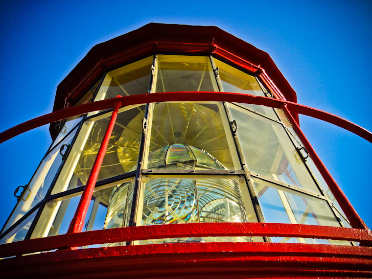 Photo of Lighthouse Lens Railing St Augustine Florida