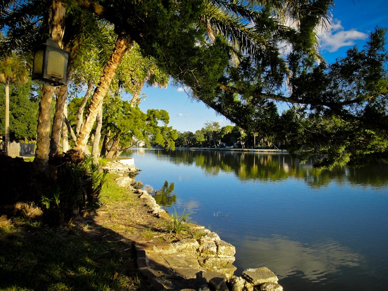 Photo of Lake Maria Sanchez Steps in St Augustine Florida