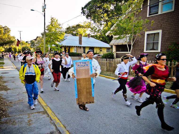 St Augustine Road Runners Pirate Hash Run Florida Photo
