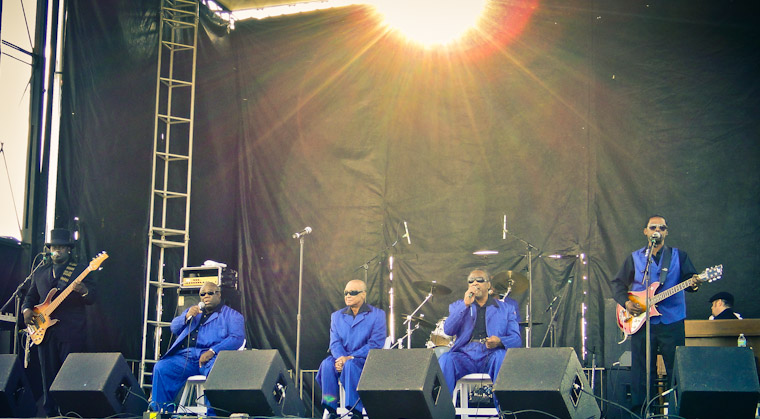 Picture of Blind Boys of Alabama at St Augustine Florida Lincolnville Festival