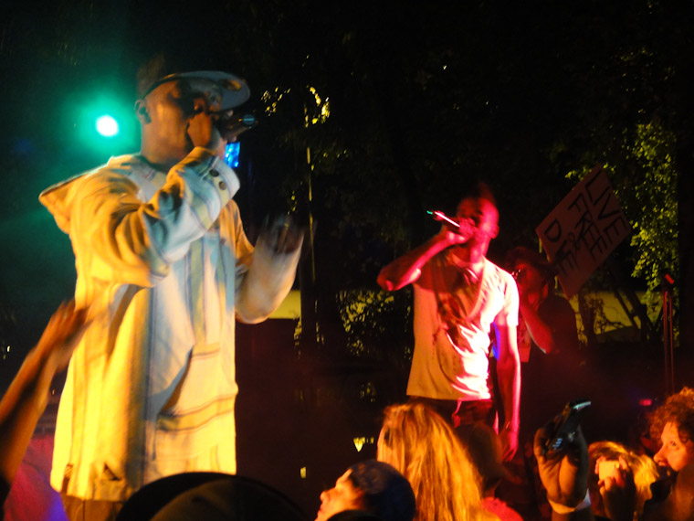 Dead Prez at Present Moment Cafe in St Augustine Florida Photo