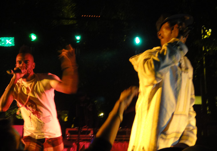 Photo of Dead Prez at Present Moment Cafe in St Augustine Florida