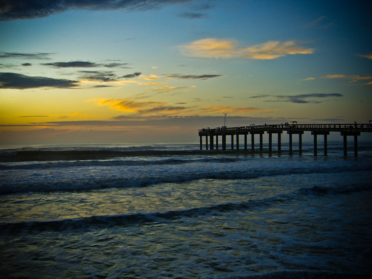 Good Morning St Augustine Florida Pier Photo